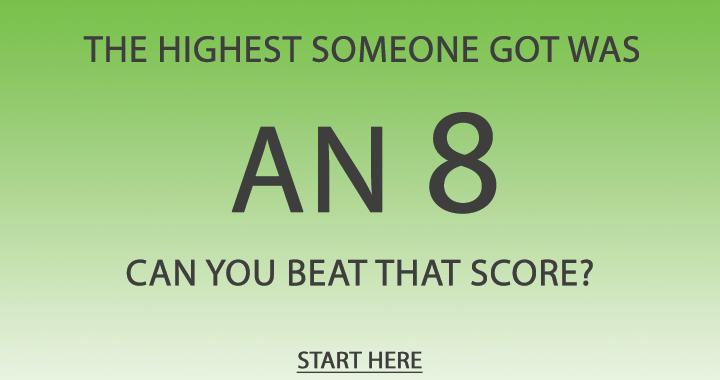 Can you beat this score?