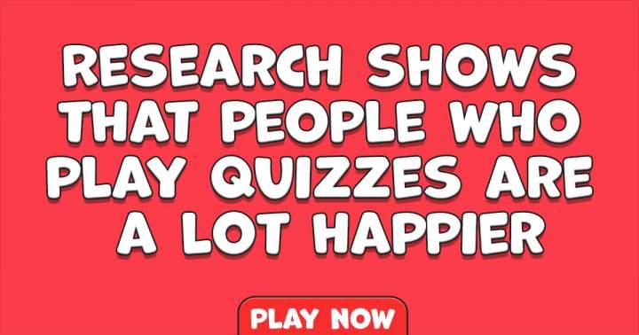 Interesting Knowledge Quiz